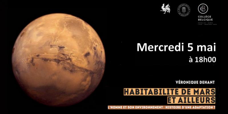 Conférence habitabilité de Mars et ailleurs (c) DGWB Paris