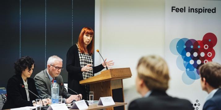 Pascale Delcomminette, Administratrice générale de Wallonie-Bruxelles International - © J. Van Belle - WBI