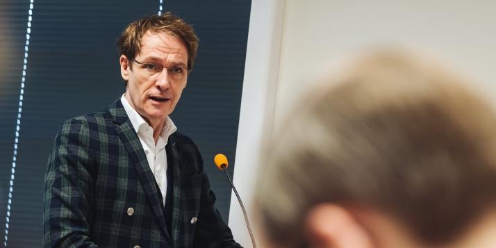 Thierry Delaval, Délégué général Wallonie-Bruxelles auprès de l'Union européenne - © J. Van Belle - WBI