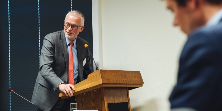Luc Paque, Relations extérieures de l'UE au sein de WBI - © J. Van Belle - WBI