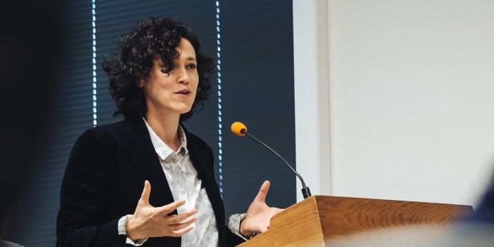 Charlotte Gugenheim, Cheffe de la Représentation de la Commission Européenne en Belgique - © J. Van Belle - WBI