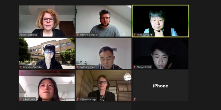 Atelier d'écriture par Aliénor Debrocq en Chine et au Japon