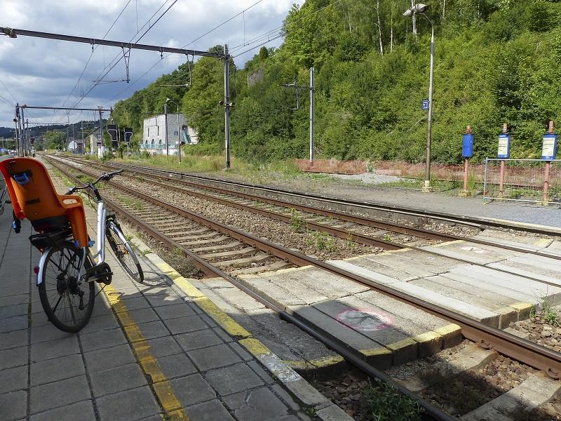 Charleroi en train et vélo