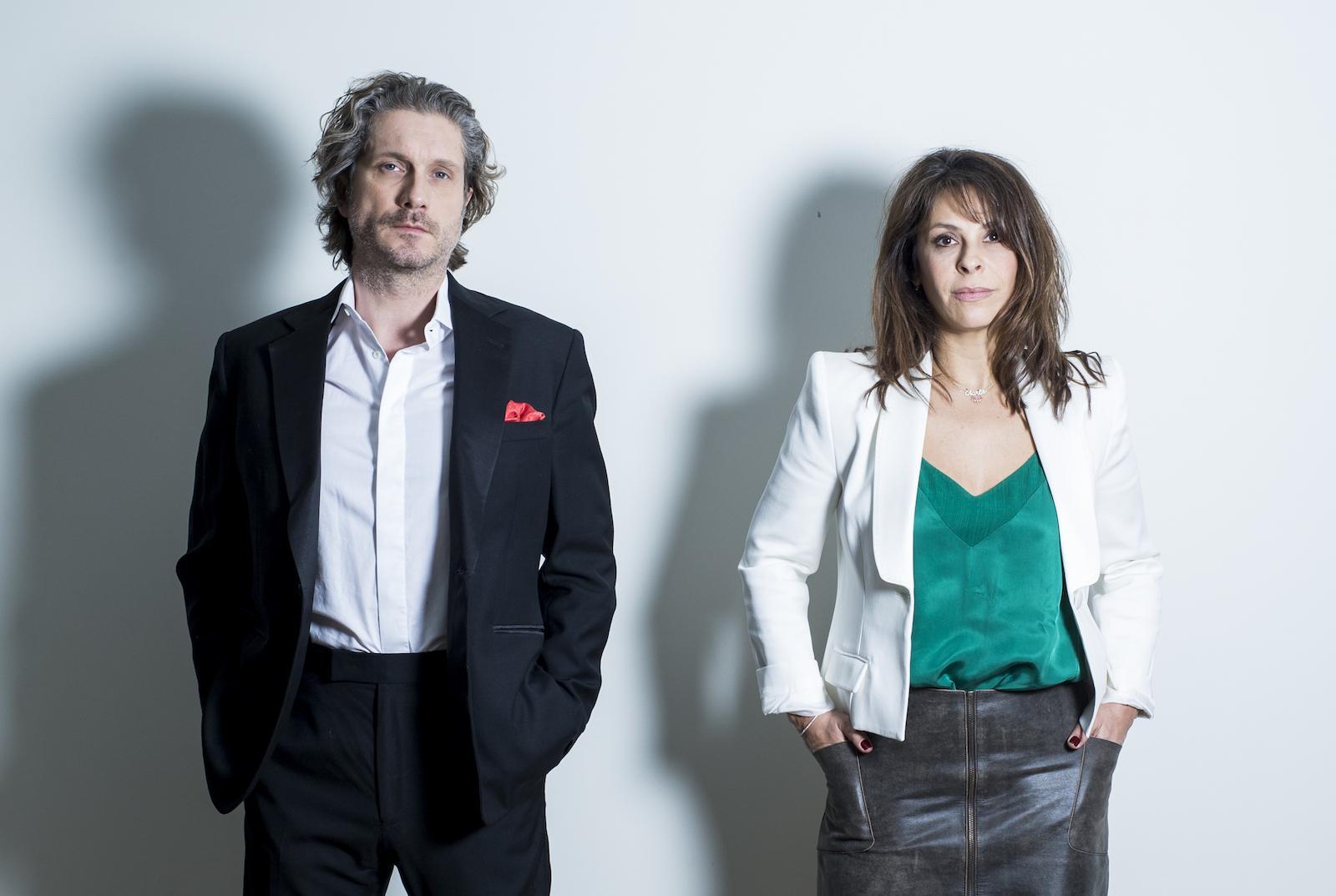 Charlie Dupont et Tania Garbarski (c) Lisbet Peremans