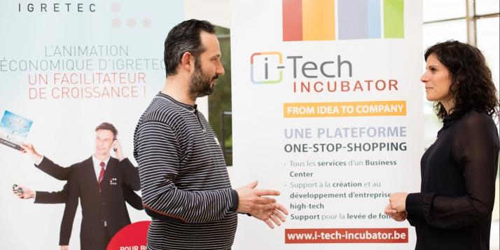 Entretien avec Florence Bosco, CEO d'i-Tech-Incubator  -  Crédit photo: Catherine D'Eletto - i-Tech Incubator
