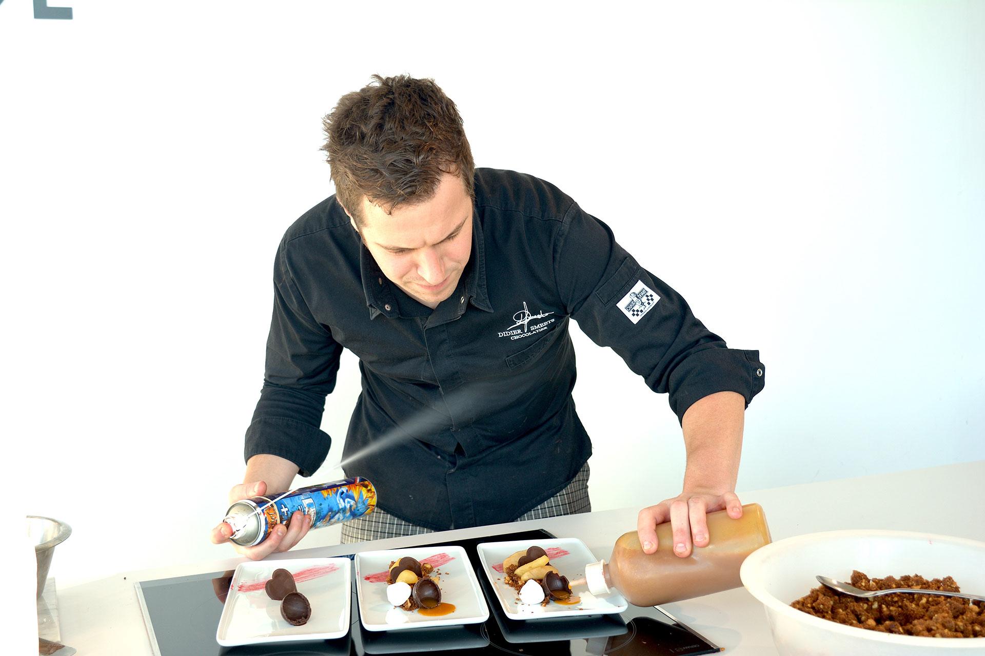 Didier Smeets en atelier (c) Didier Smeets Chocolaterie