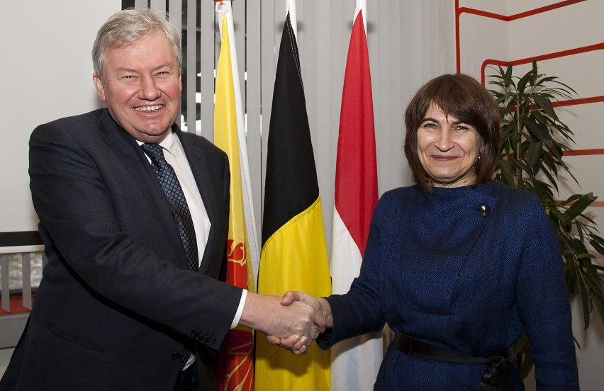 Jean-Claude Marcourt et Liliane Ploumen