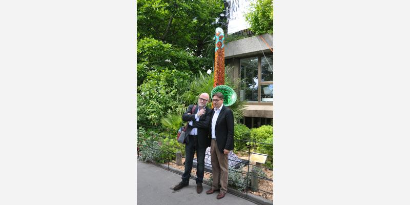 Hernri Monceau et Fabrizio Borrini