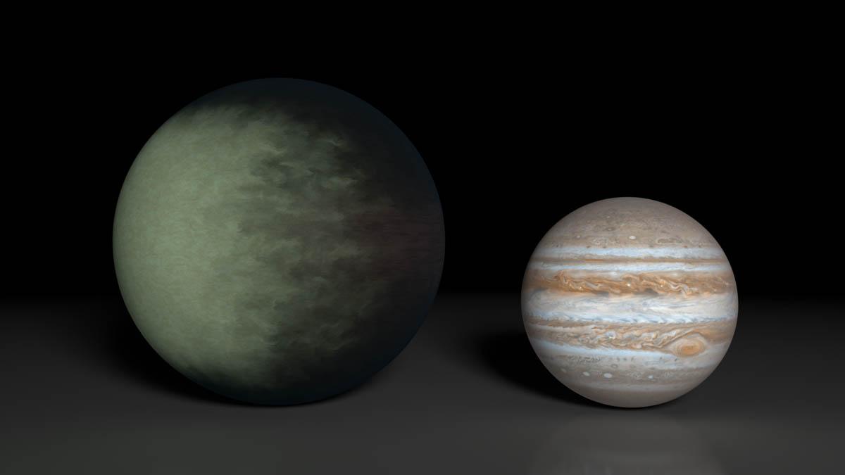 Kepler-7b  © NASA/JPL-Caltech/MIT