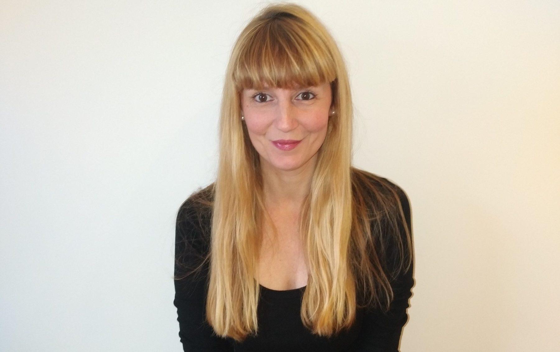 Maria Elena Minuto, chercheuse post-doctorale en poésie concrète et visuelle à l'Université de Liège © Maria Elena Minuto
