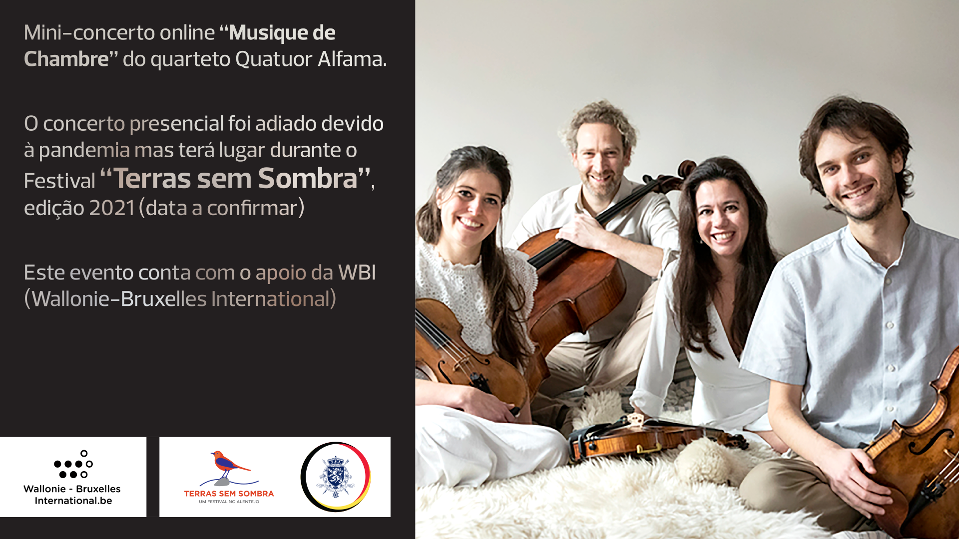 Mini-Concert de l'Ensemble Quatuor Alfama