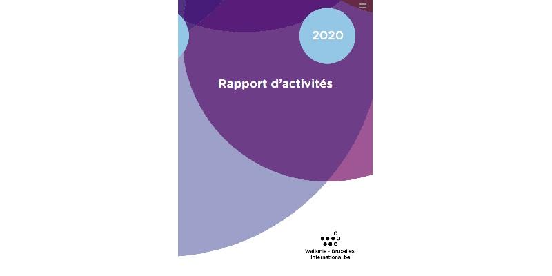 Rapport d'Activités 2020 de WBI