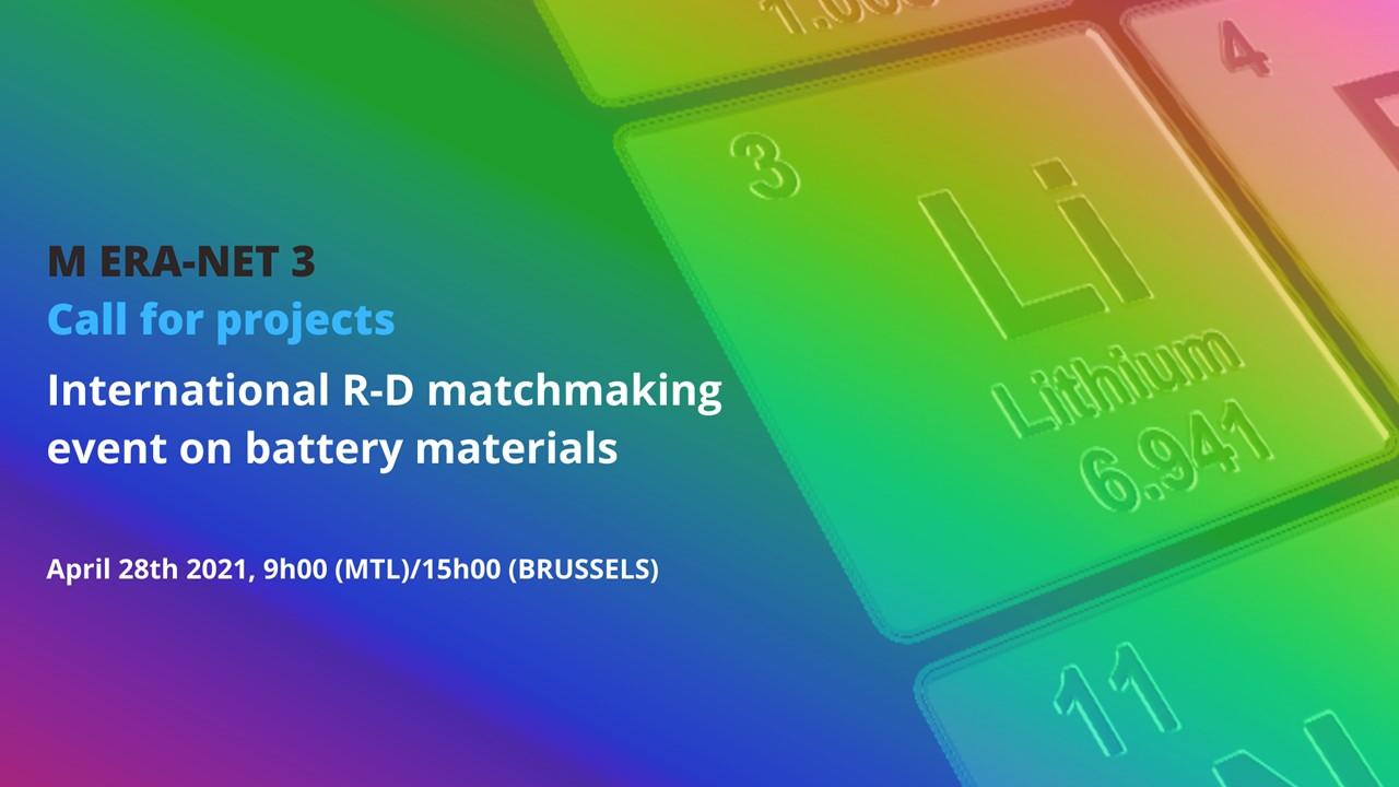 Mobilité décarbonée: Succès du webinaire sur les matériaux pour les batteries du futur