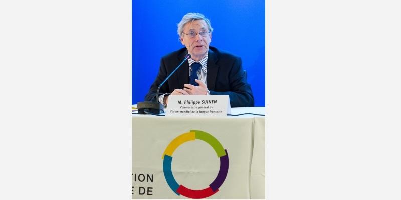 Philippe Suinen, Commissaire général du Forum