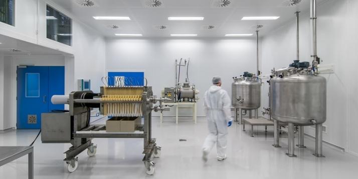 Unité de production chez KiOmed Pharma (c) KiOmed