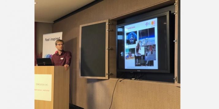 Dr. Andreas Distler, titulaire du nouveau record mondial d'efficacité pour les modules solaires organiques