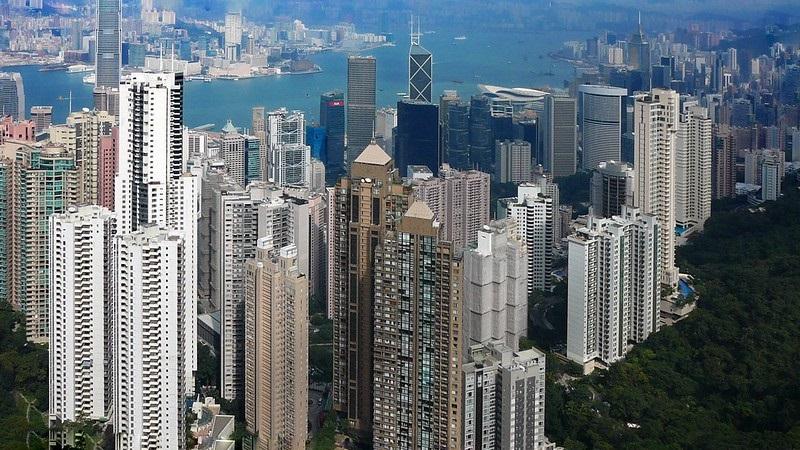 Hong Kong from Victoria Peak - Cycling Man (CC BY-NC-ND 2.0)