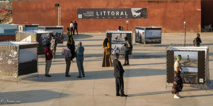 """Exposition """"Littoral""""   © Assane Sow"""