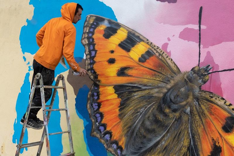 Mur de la francophonie-Lisbonne-Styler (c) Micheline Pelletier