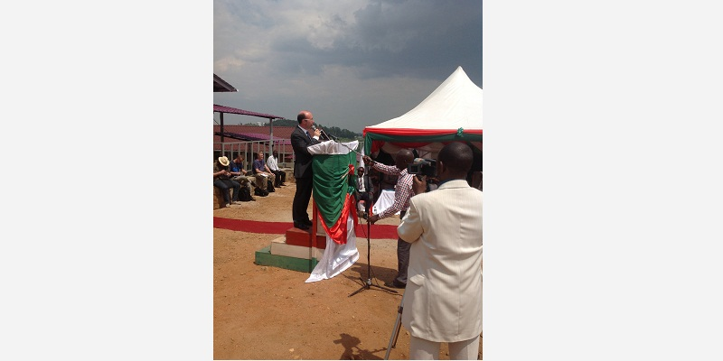 Le Ministre-Président Rudy Demotte en visite au Burundi