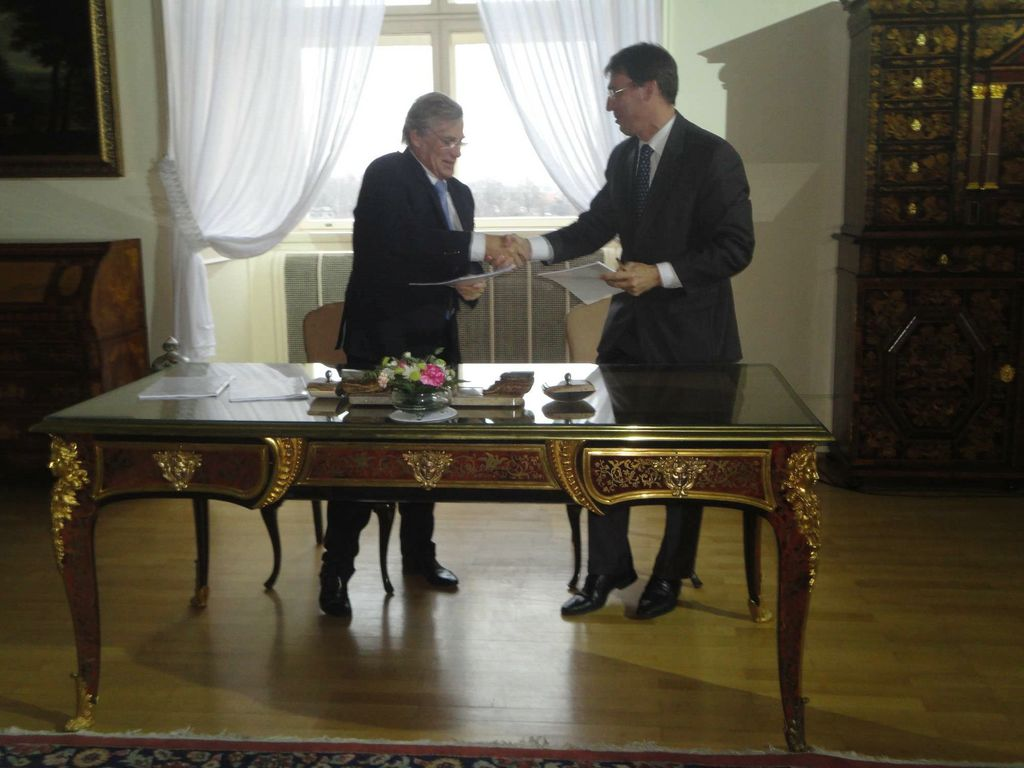 Philippe Suinen et Jaroslav Kurfürst