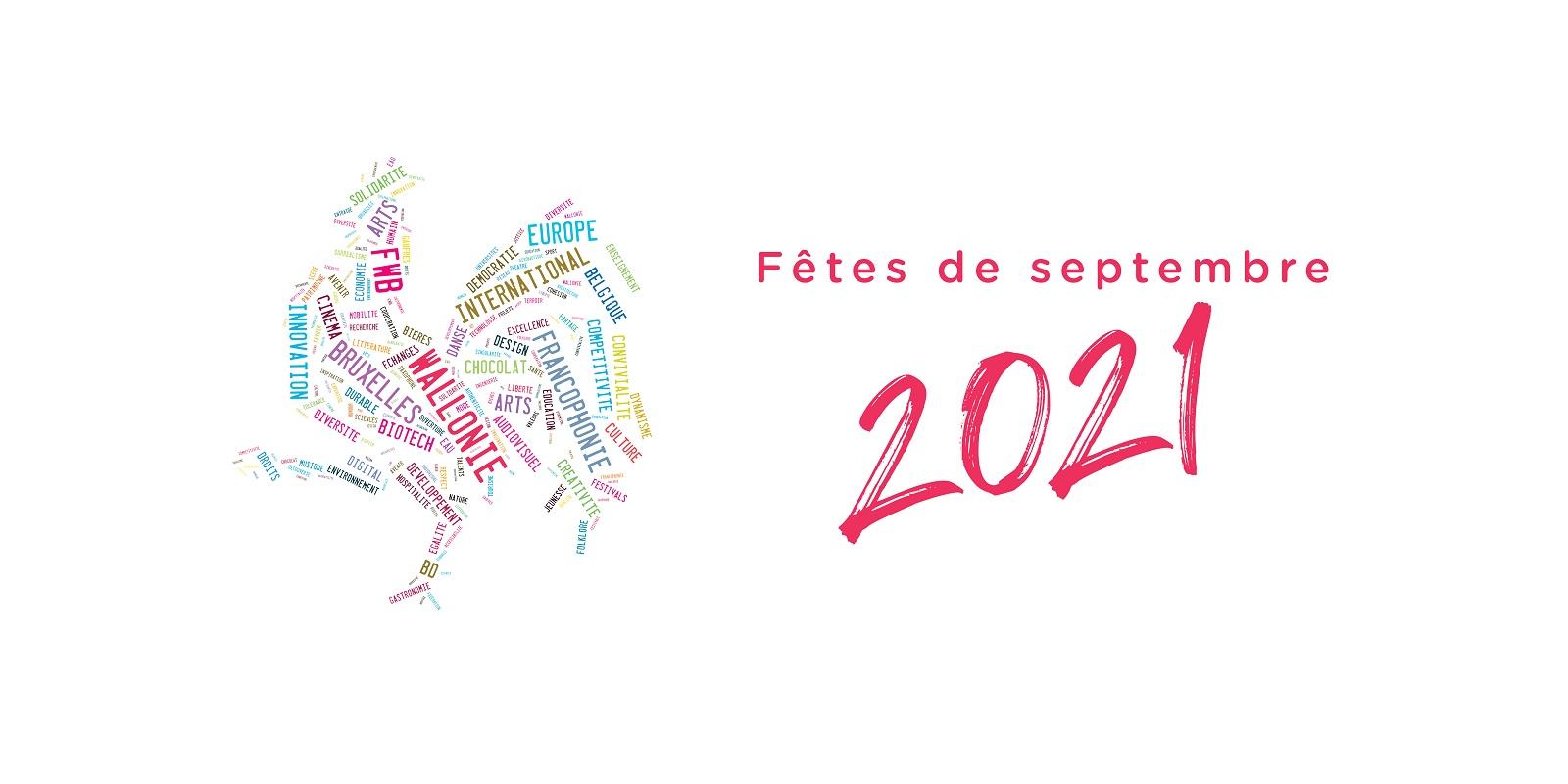 "Logo ""Fêtes de septembre 2021"""