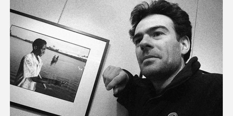 Le photographe Gaël Turine