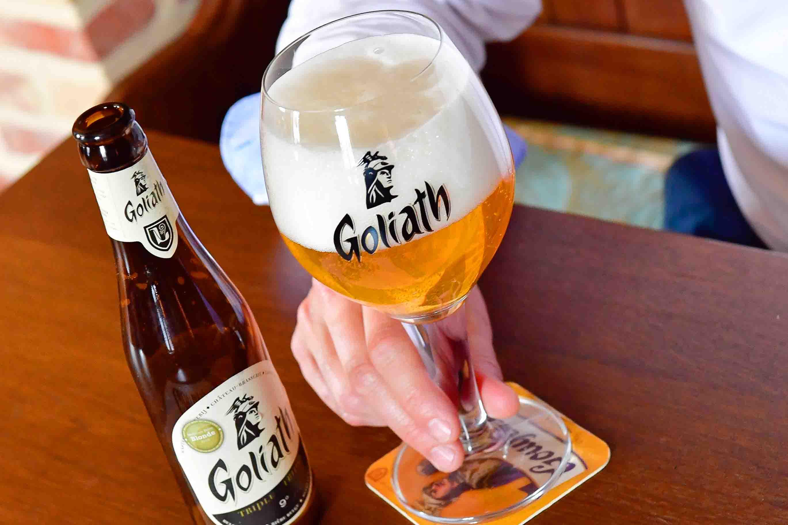La Goliath, bière blonde - Brasserie des Légendes