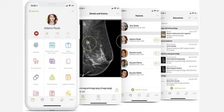 L'application d'Andaman7 propose une véritable interaction entre les patients et les acteurs de la santé
