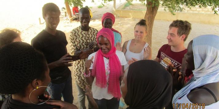 """L'association """"Jeunes et citoyens"""" au Sénégal"""