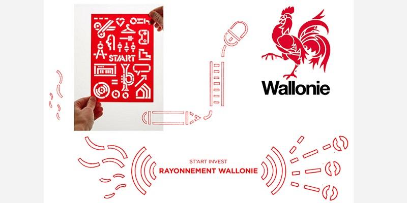 Logos (c) Wallonie + St'art Invest