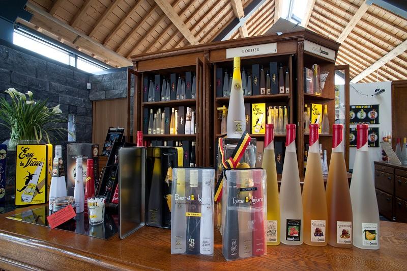 Production de la Distillerie de Biercée
