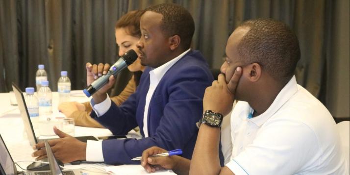 Séminaire de partage des connaissances au Rwanda