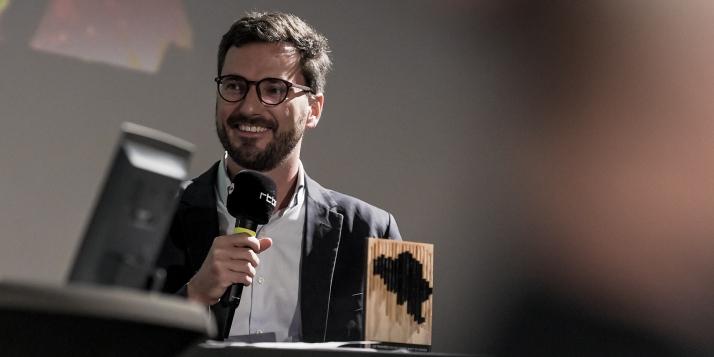 """Trophée """"Culture et art de vivre"""" 201 - Gauthier Lagasse"""