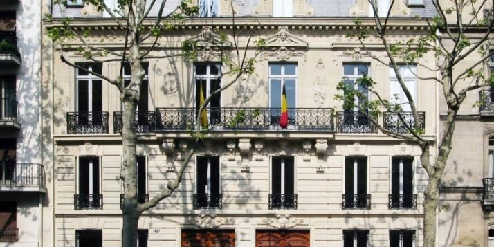 Photo de la facade de la délégation générale à Paris - cliquer pour agrandir