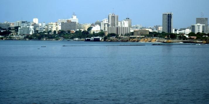 Vue de la ville de Dakar au Sénégal - cliquer pour agrandir