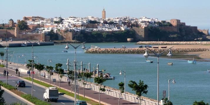 Vue sur Kasbah des Oudaias à Rabat au Maroc - cliquer pour agrandir