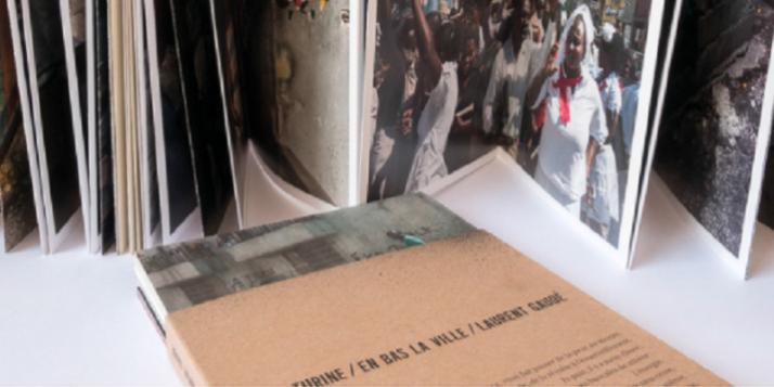 """Rencontre autour du livre """"En bas la ville"""" avec Gaël Turine et Laurent Gaudé - cliquer pour agrandir"""