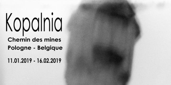 """Affiche de l'Exposition """"Kopalnia, Chemin des mines Pologne-Belgique"""" - cliquer pour agrandir"""