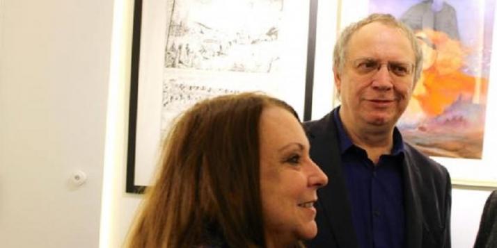 Maryse Nouwens et Jean-François Charles Close - cliquer pour agrandir