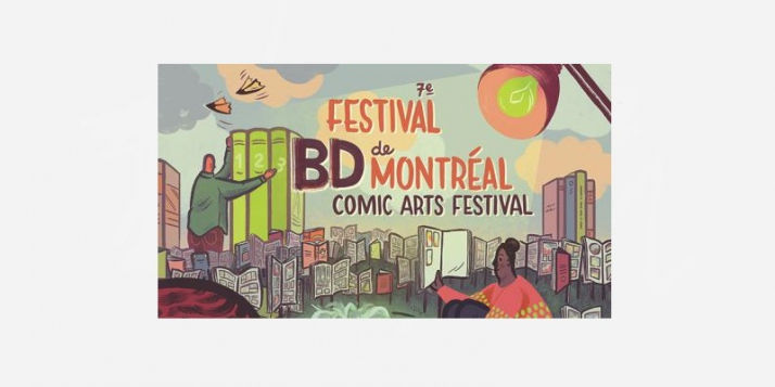 Kosma, Lecrenier et les Éd. Sandawe au Festival BD de Montréal - cliquer pour agrandir