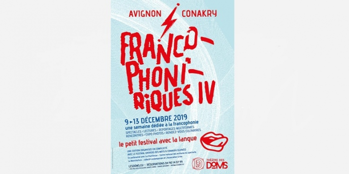 """Festival """"Les Francophoniriques"""" à Avignon - cliquer pour agrandir"""