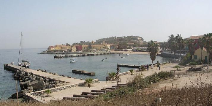 l'île de Gorée au Sénégal - cliquer pour agrandir