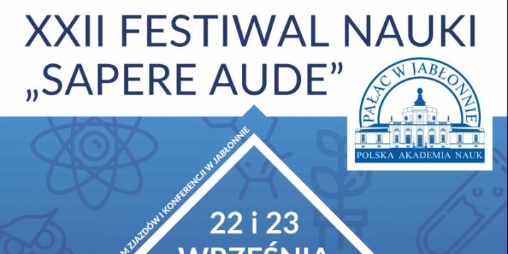 Festival des Sciences SAPERE AUDE à Jabłonna - cliquer pour agrandir