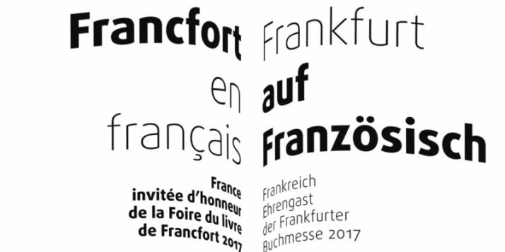 """Foire du livre de Francfort 2017 - """"Francfort en français"""" - cliquer pour agrandir"""