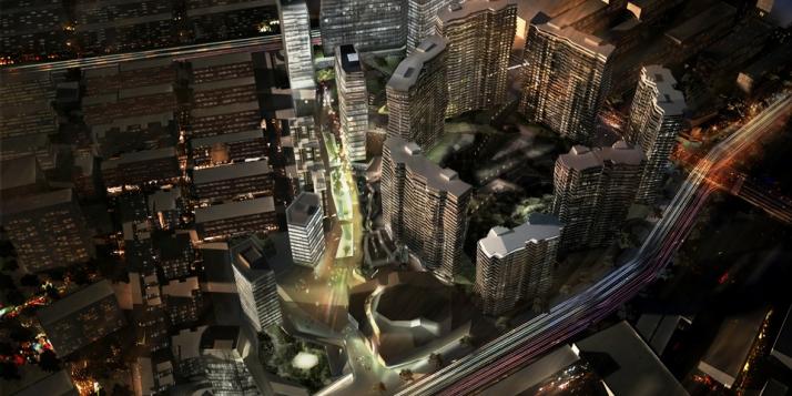 Pékin, la nuit - cliquer pour agrandir
