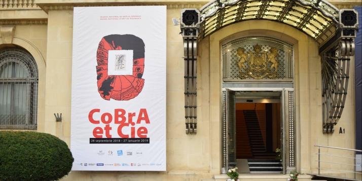 "Vernissage de l'exposition ""Cobra & Cie"" - cliquer pour agrandir"