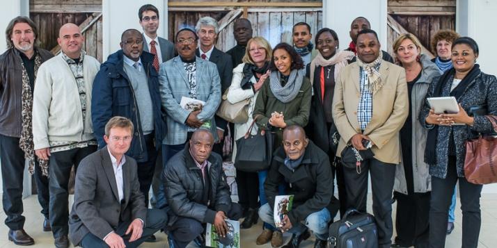 La délégation congolaise à Bruxelles - cliquer pour agrandir