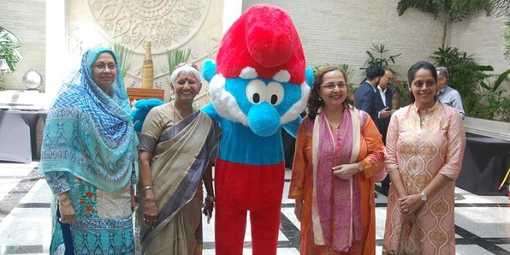 Lors de la mission tourisme organisée par l'Awex Mumbai - cliquer pour agrandir