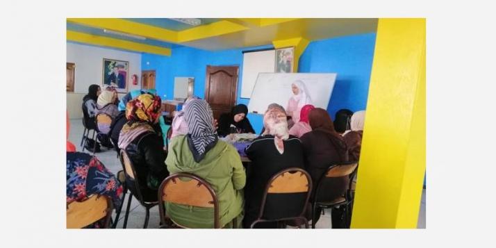 Sensibilisation à l'entreprenariat à Essaouira - cliquer pour agrandir